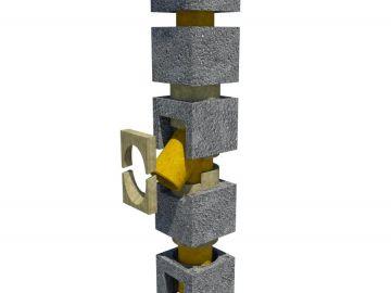 Komínová sestava 160mm délka 5m