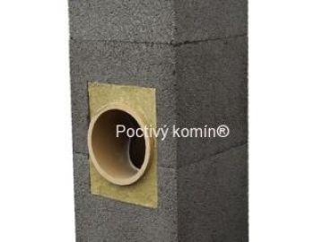 Stavebnicový systém komínu180mm/6m